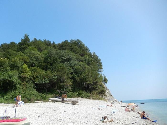 Кемпинг Бриз - пляж
