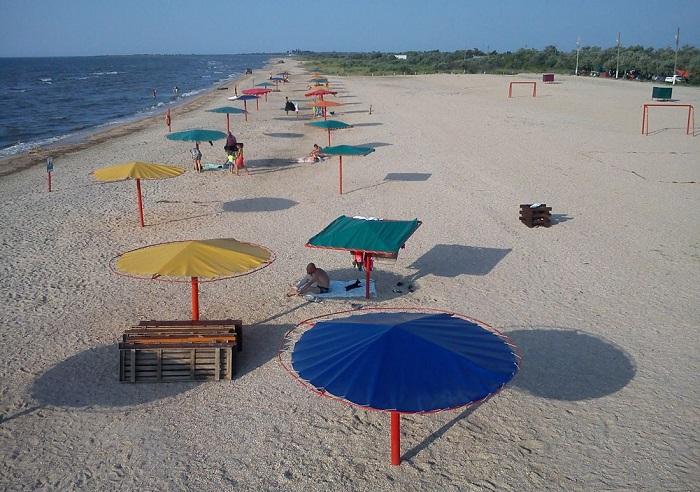 Кемпинг оазис на Азовском море