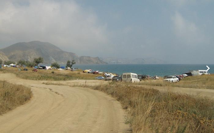 Автокемпинг в Тихой бухте (Крым)