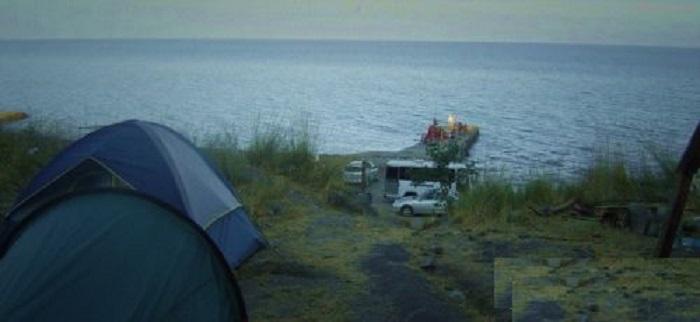 Кемпинг в Крыму около базы отдыха «Эврика»