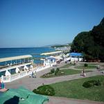 Пляжи п. Дивноморское