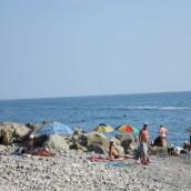 Пляж поселка Солоники: фото
