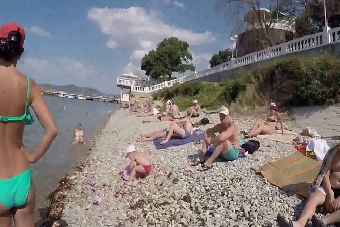 Магнолия пляж Геленджик