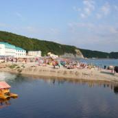 Пляжи Новомихайловского: «Центральный», «Приморская» — фото, отзывы