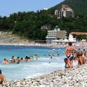 Пляжи, Ольгинка – «Центральный», санаторные: фото, отзывы