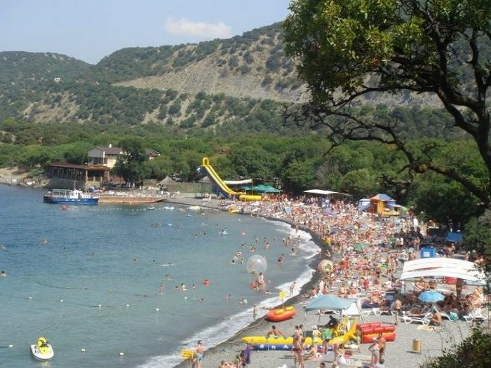 Пляжи Большого Утриша центральный