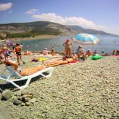Пляжи Большого Утриша: «Центральный», автокемпинга – фото, отзывы