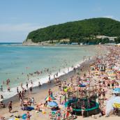 Пляжи Джубги: «Центральный», в бухте Инал – фото, отзывы