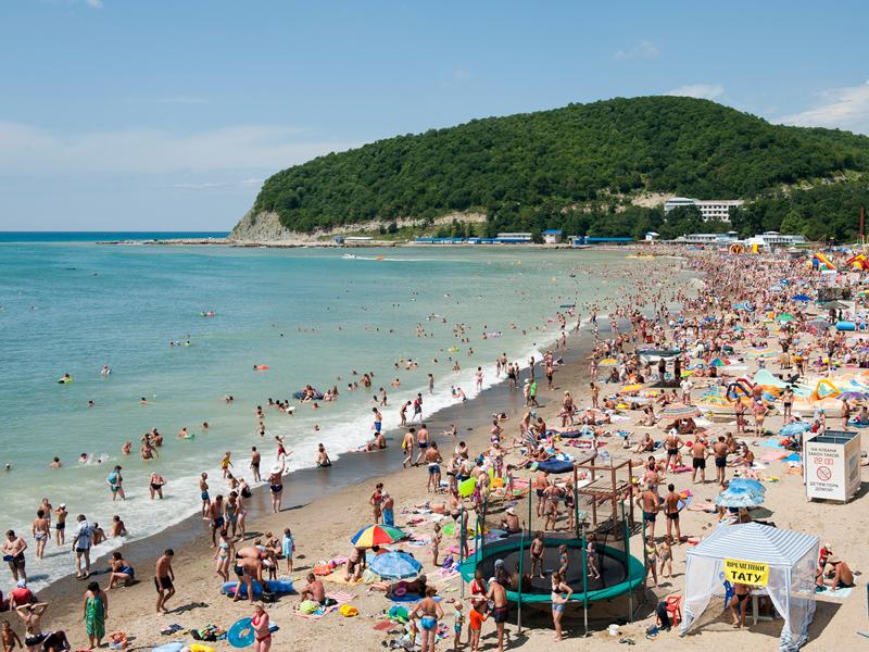 Пляж Джубга