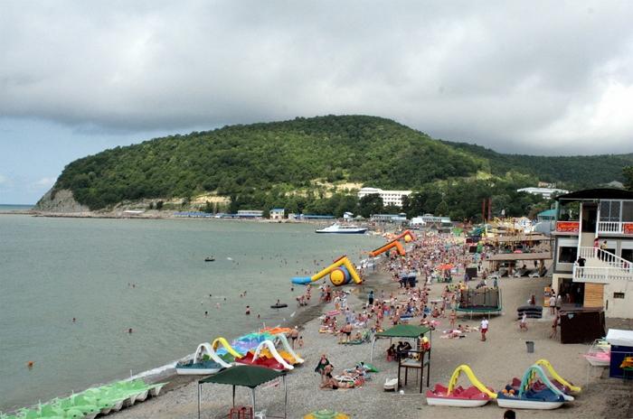 Пляжи Лермонтово 1