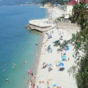 Пляжи поселка Агой – «Центральный», «Чайка»:фото