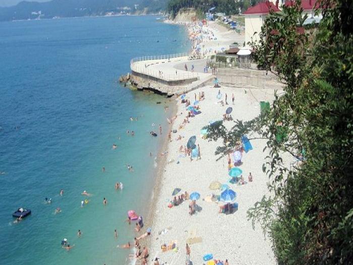 Пляжи поселка Агой