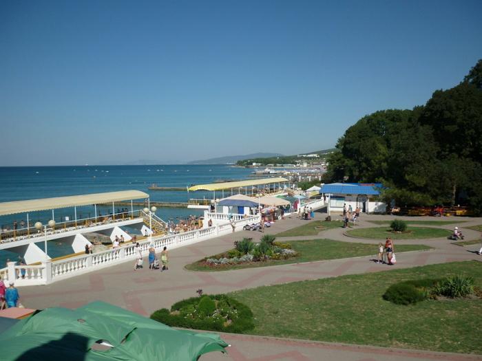Пляжи п. Дивноморское1