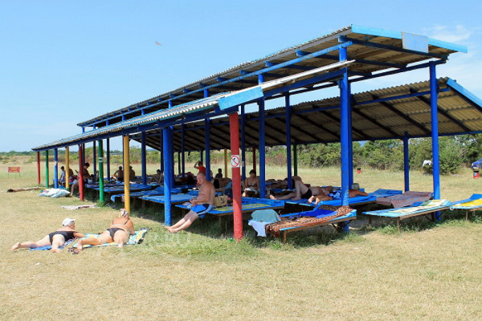 Пляж базы отдыха «Взлет»