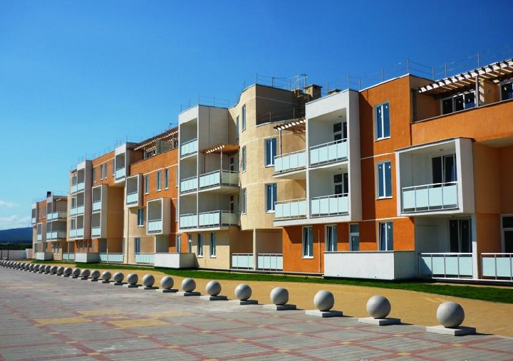 Пляж жилищного комплекса «Торик»