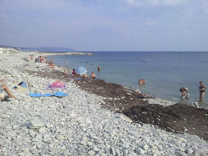 Пляж кемпинга «Тонкий мыс»
