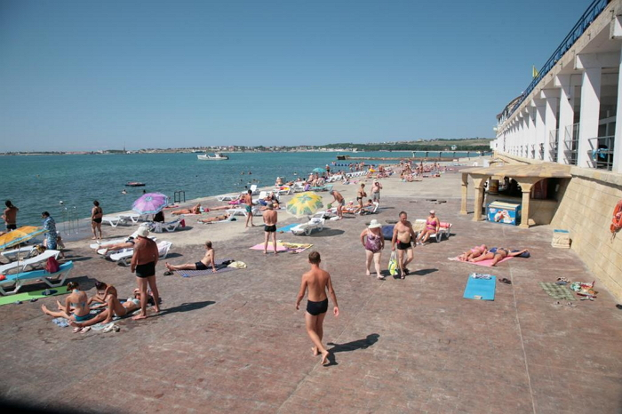 Пляж лечебно-оздоровительного комплекса «Солнечная»