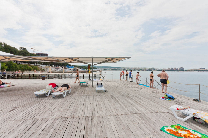 Сосновая роща геленджик пляж фото