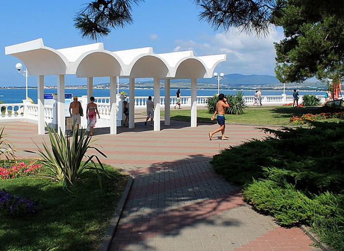 Пляж санатория «Звездочка»