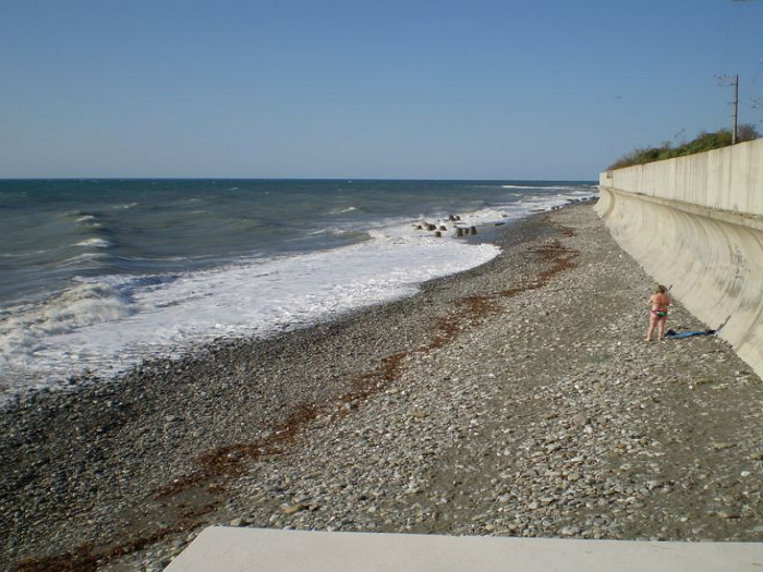 дикие пляжи головинки 1