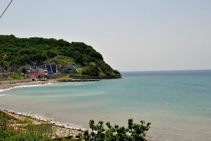 пляж Лазурный берег Головинка