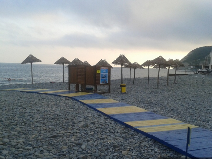 Пляжи в Южной Озереевке 2