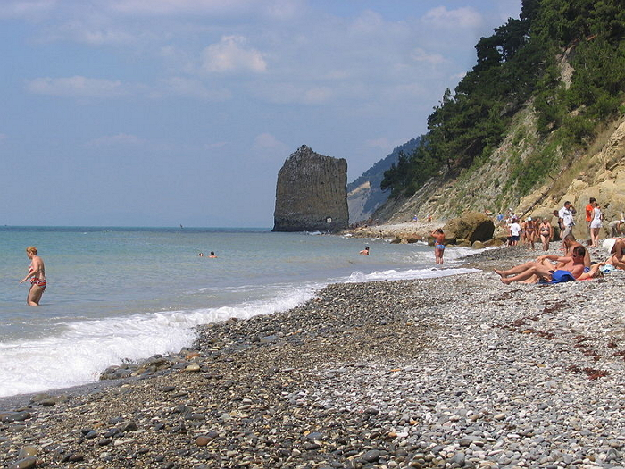 Пляж,_Прасковеевка