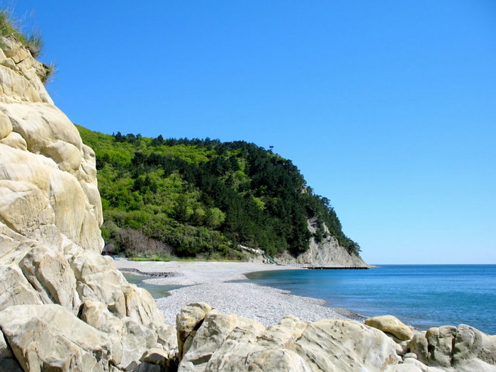 дикий пляж в прасковеевке