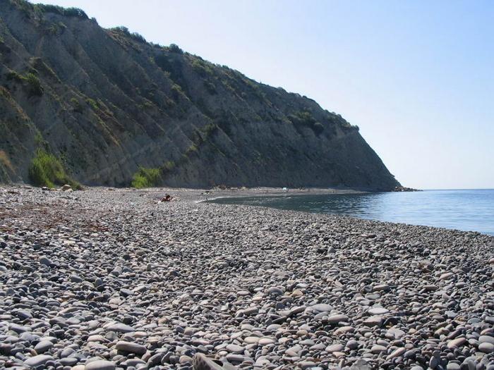 широкая балка пляжи