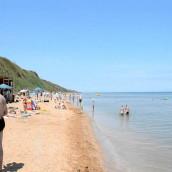 Пляжи в Кучугуры – «Центральный»: фото, описание
