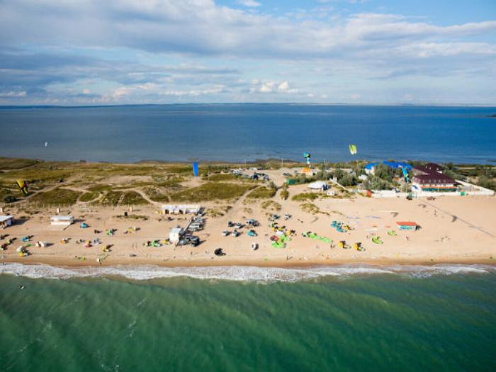 Пляжи станицы Благовещенская1