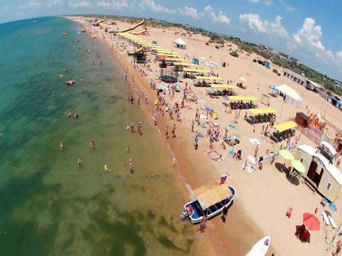 пляжи Витязево1