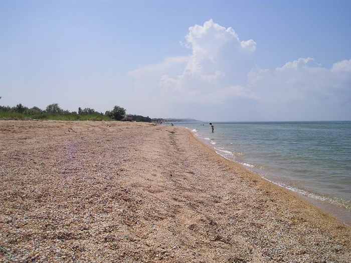 Пляжи Голубицкая